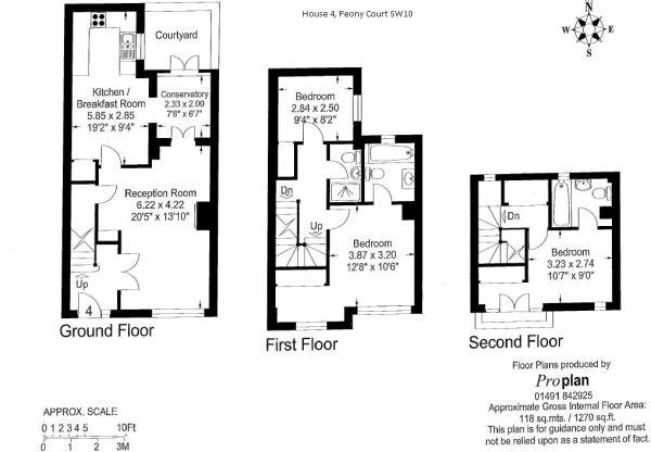 Floorplan House 4 Pe