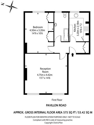Pavilion Road floorp