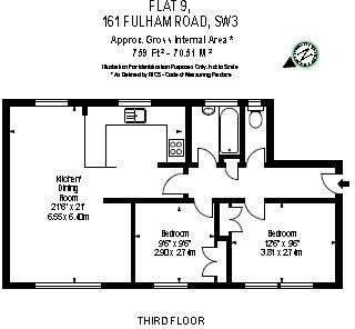 Floor plan Fulham Ro