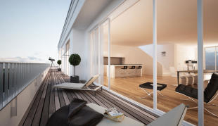 Penthouse in Wilmersdorf, Berlin...