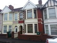 Terraced home for sale in Walmer Road, Newport