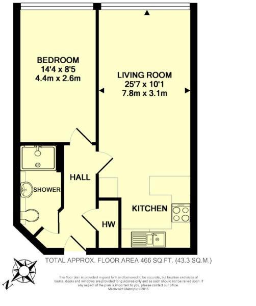Floor Plan - Unit 19