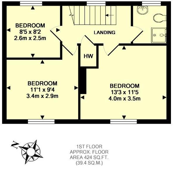 first floor plan cro