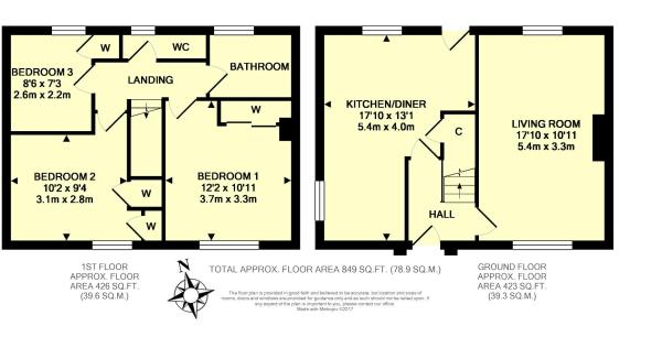 Floor Plan - 93 Vict