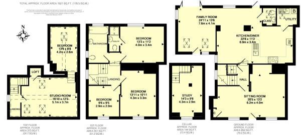 Floor Plan pan - 2 T