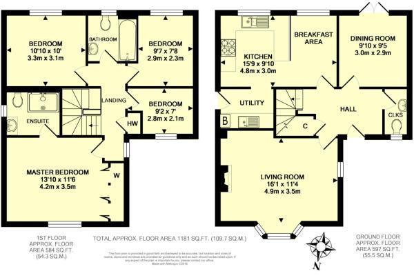 Floor Plan - 23 Wyve