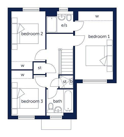 First floor floorpla