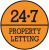24.7 Property Letting (Glasgow) Ltd, Hamilton logo