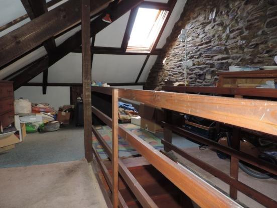 Large loft area