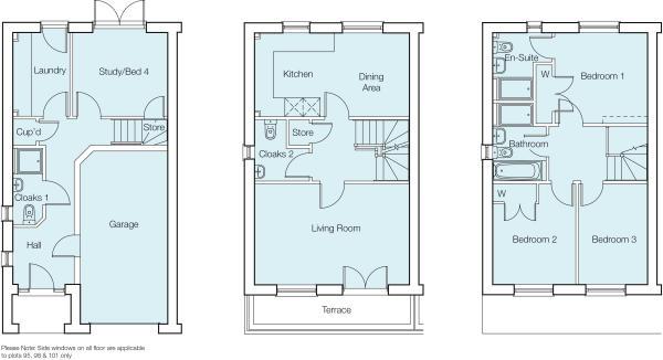 The Hexham Floorplan