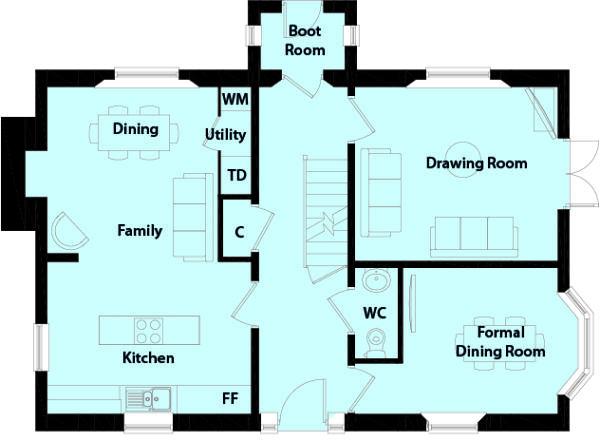 Farm House Floor Plans-01