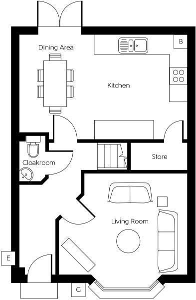 The Shipton - Ground Floor