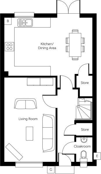 The Woodcote - Ground Floor