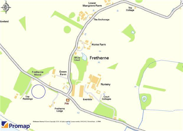 Fretherne location