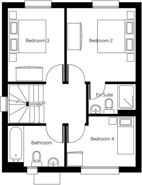 Whitecroft - First Floor