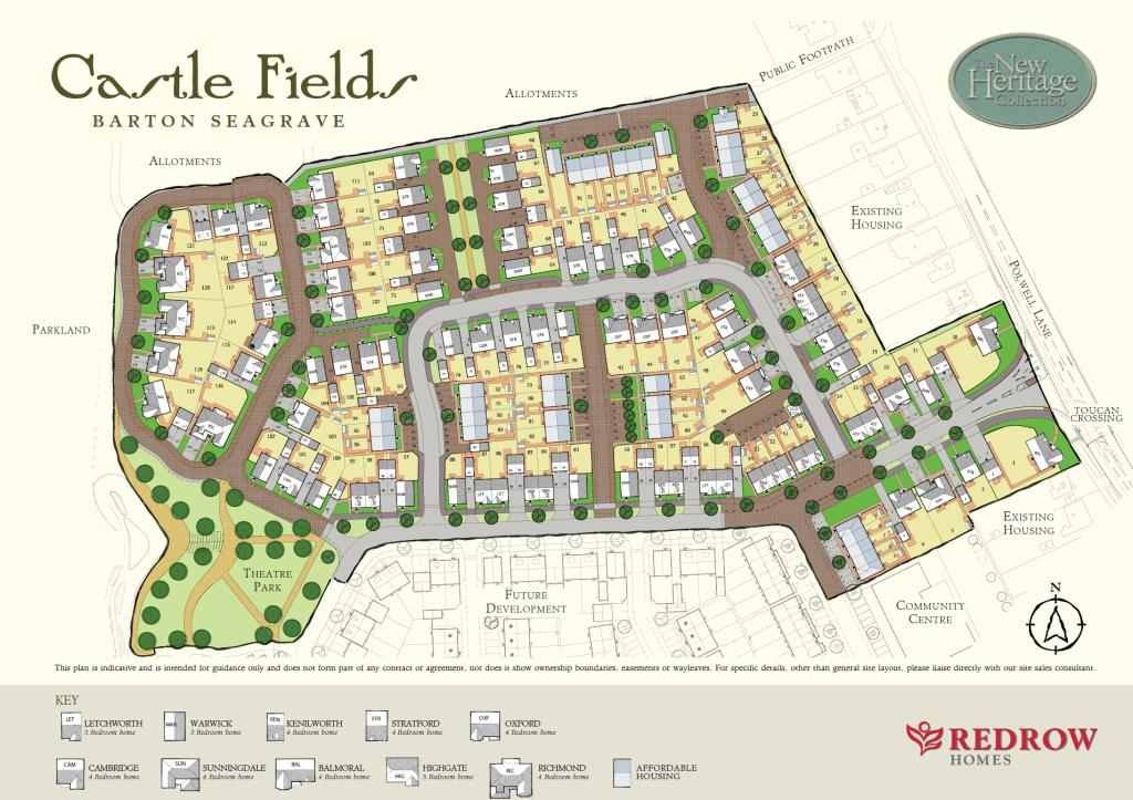 castle fields new homes development by redrow homes