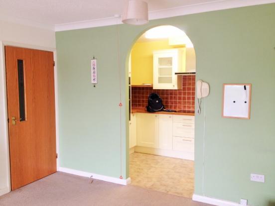 Lounge into Kitchen