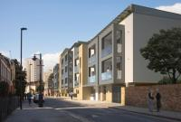 new development in Sidney Road, Stockwell...