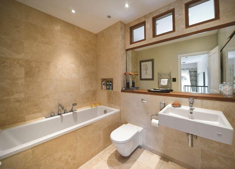 Click to see a larger image Bathroom ideas beige tiles