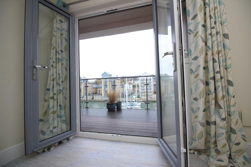 Master balcony...