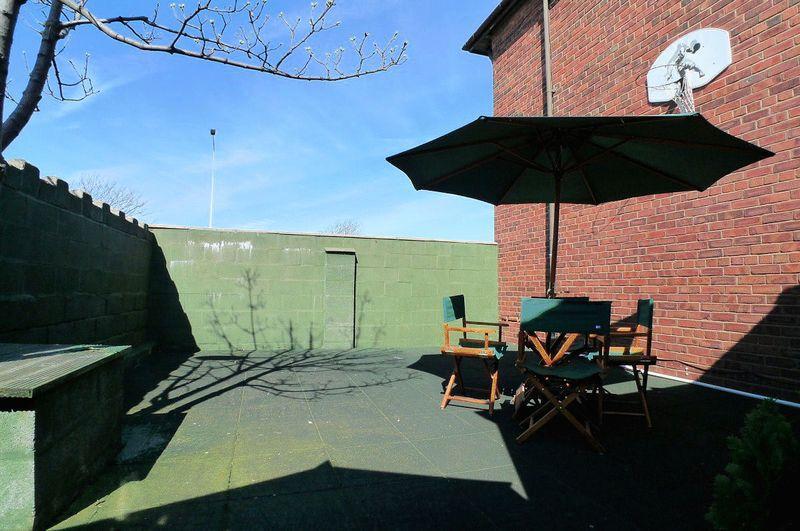 Rear Court Yard