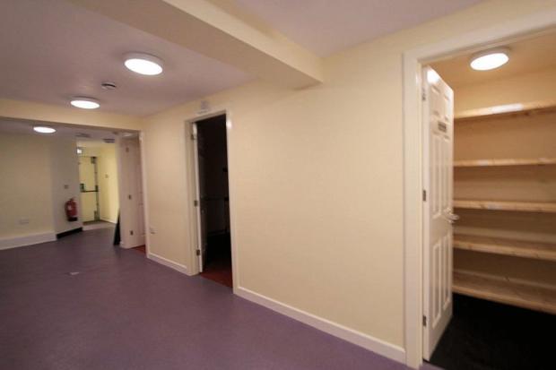 Inner hall area