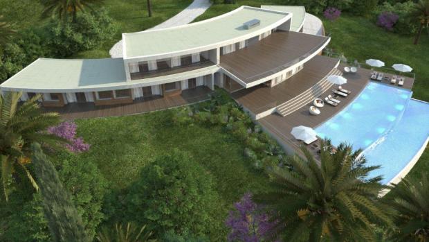 Villa exterior - 3D image