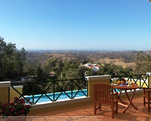 Terrace, Pool & View