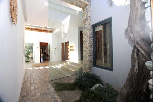 Interior couryard