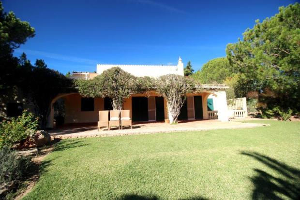 Villa from garden