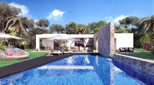 3D image of pool