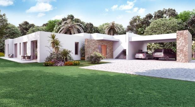 3D image of house
