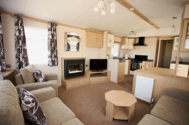 Model Private Caravan Rental Southport Lancashire UK