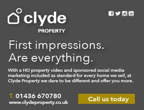 Get brand editions for Clyde Property, Helensburgh