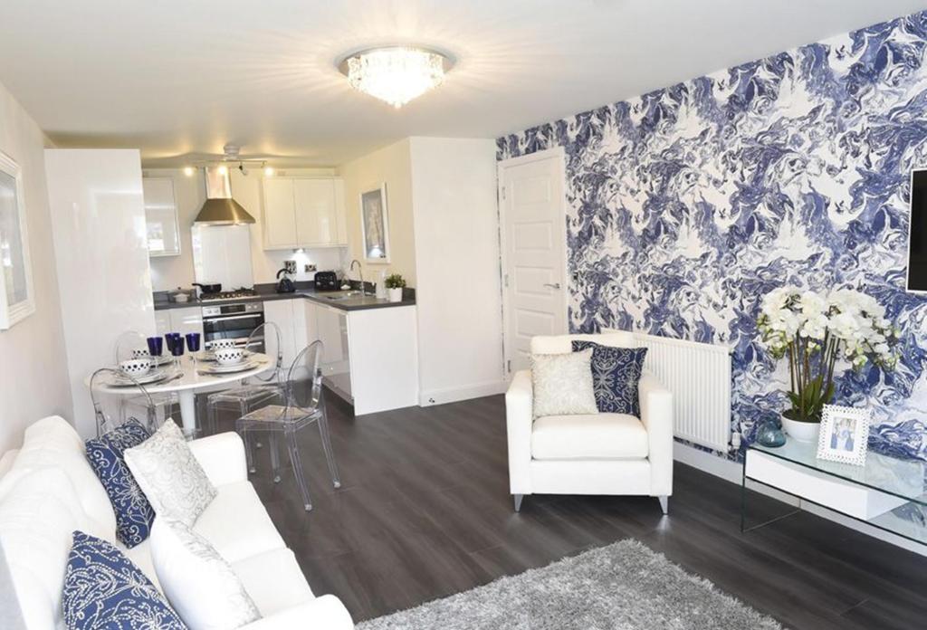 Gannet living area