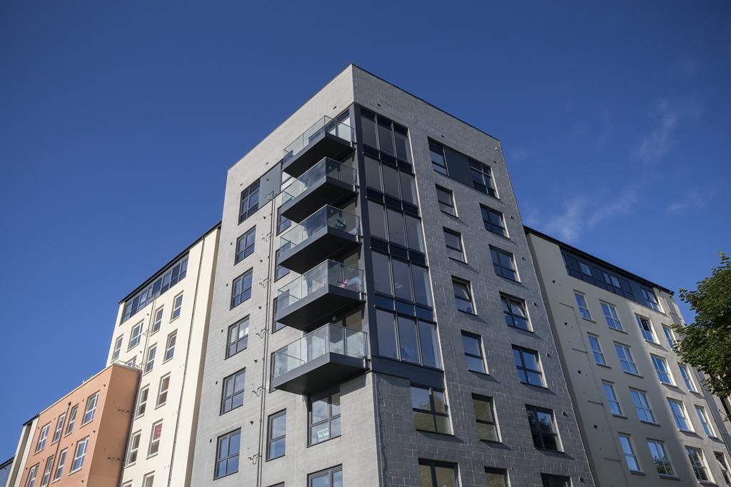 View of balconies