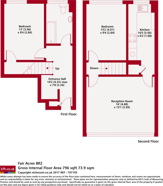 2 Bedroom Flat To Rent In Fair Acres Bromley Br2 Br2