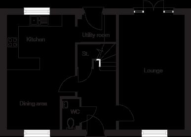 Taylor-Wimpey-Eskdale-4-bedroom-home-ground-floor-plan