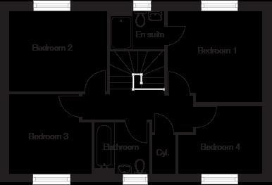 Taylor-Wimpey-Eskdale-4-bedroom-home-first-floor-plan