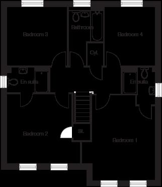 Taylor-Wimpey-Haddenham-4-bedroom-home-first-floor-plan