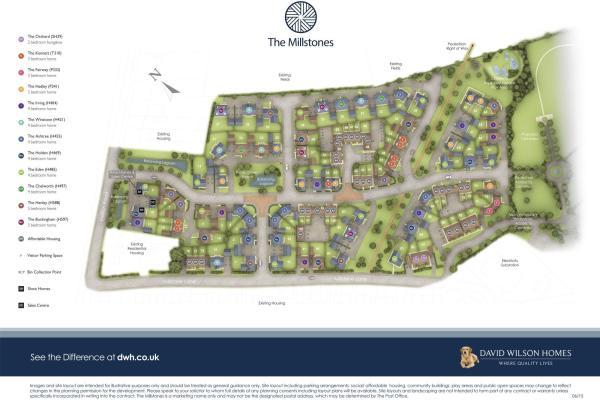 The Millstones New Homes Development By David Wilson Homes