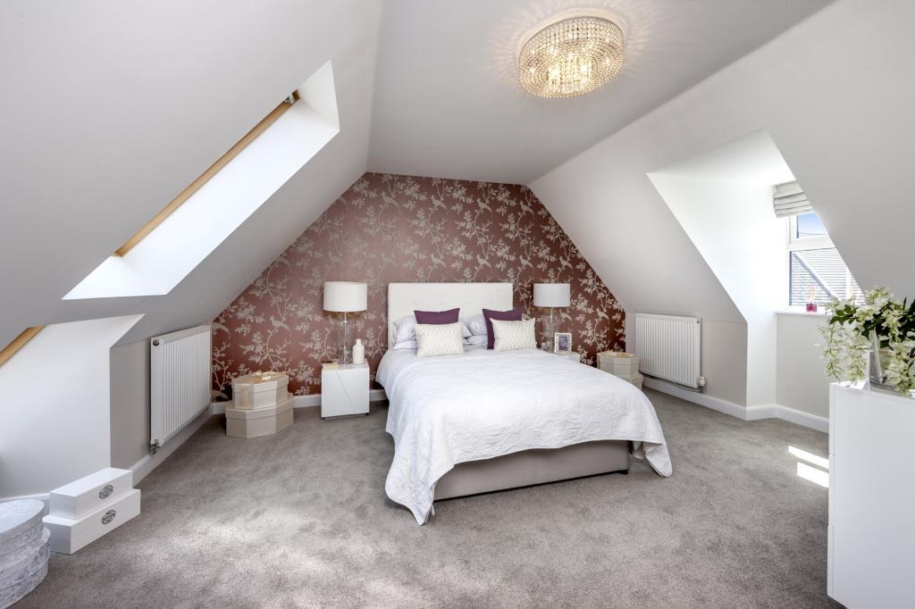 The Moorecroft bedroom 2 at Spireswood Grange, Hurstpierpoint