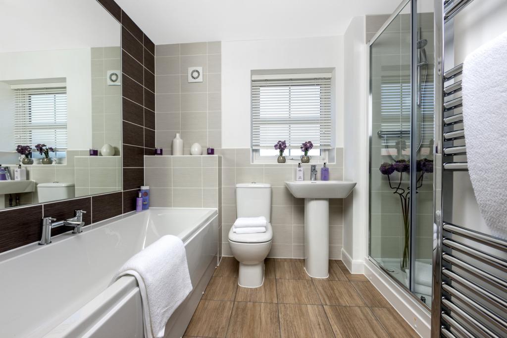 The Kemble family bathroom