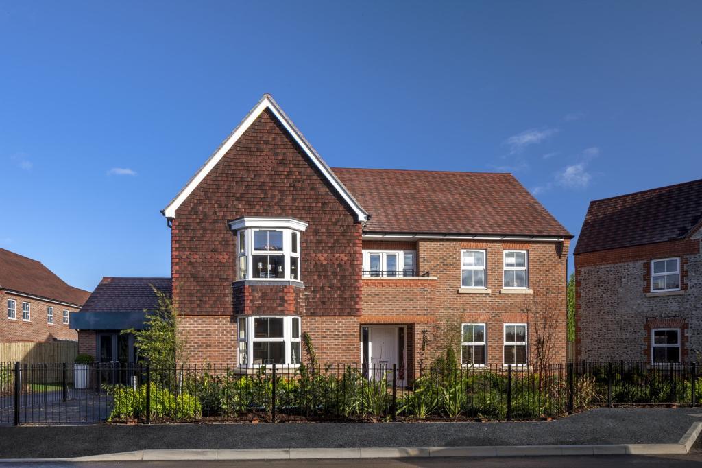 The Kemble 5 bedroom home external at Spireswood Grange