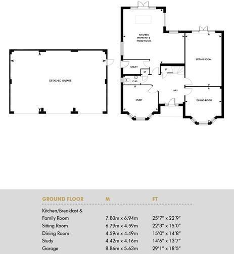 Oak House, Ground Floor