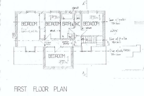 Original floor...