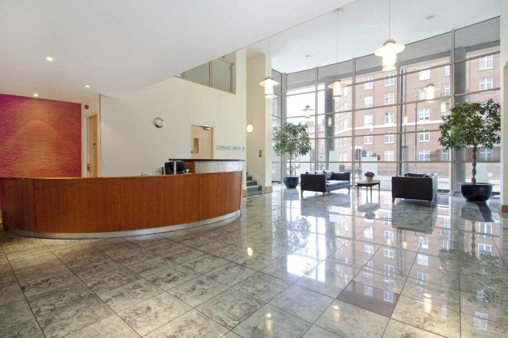 Building Reception Area