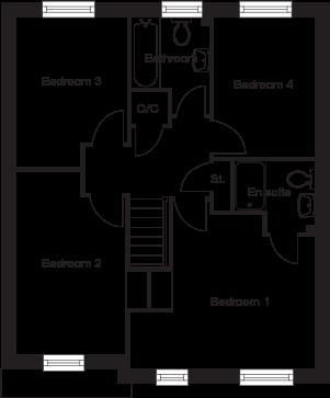 Taylor-Wimpey-Bradenham-4-bedroom-home-first-floor