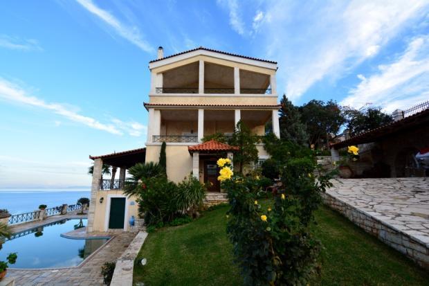 6 Bedroom Villa For Sale In Peloponnese Corinthia Korfos