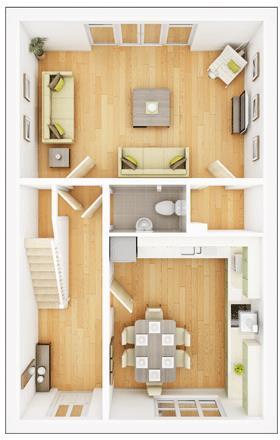 Monkford - Ground Floor Plan